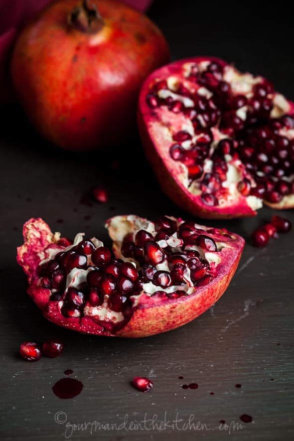 Pomegranate, Gourmande in the Kitchen, Sylvie Shirazi Photography, food photography