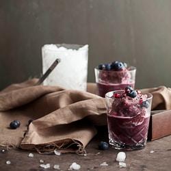 Blueberry Pomegranate Matcha Tea Slushies-5