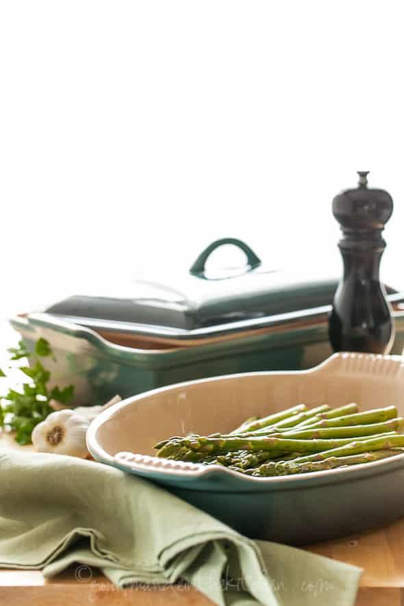 The Heritage Au Gratin Dish and Rectangular Casserole, Gourmande in the Kitchen, Sylvie Shirazi, food photography