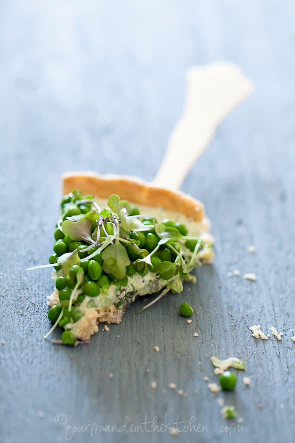 Pea and herbed Goat Cheese Tart 52 2 Pea and Herbed Goat Cheese Tart | Spring on a Plate (Gluten Free and Grain Free)