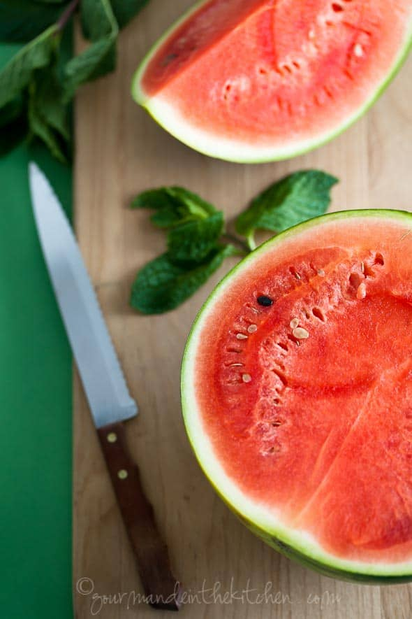 Watermelon and Mint, Sylvie Shirazi Photography, Gourmande in the Kitchen, food photography