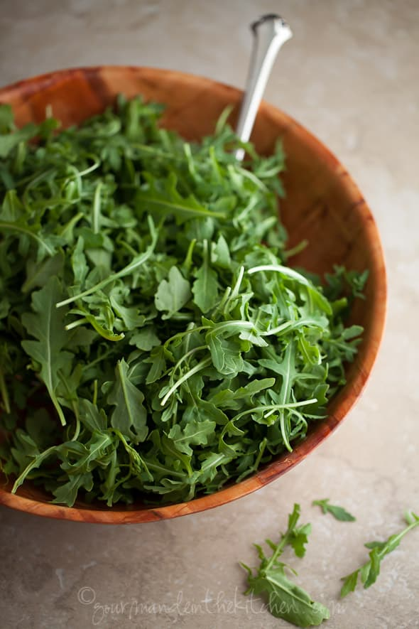 Arugula, Gourmande in the Kitchen, Sylvie Shirazi Photography, food photography