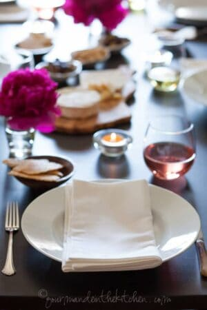 McCormick Dinner Party Table Setting, sylvie shirazi photography, los angeles food photographer, gourmande in the kitchen