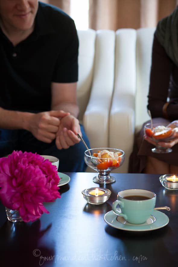 dinner party dessert, sylvie shirazi photography, gourmande in the kitchen