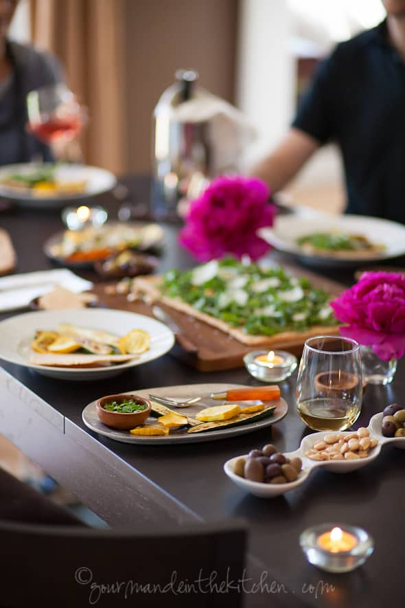 McCormicks Dinner Party summer entertaining, sylvie shirazi photography, gourmande in the kitchen, food photography