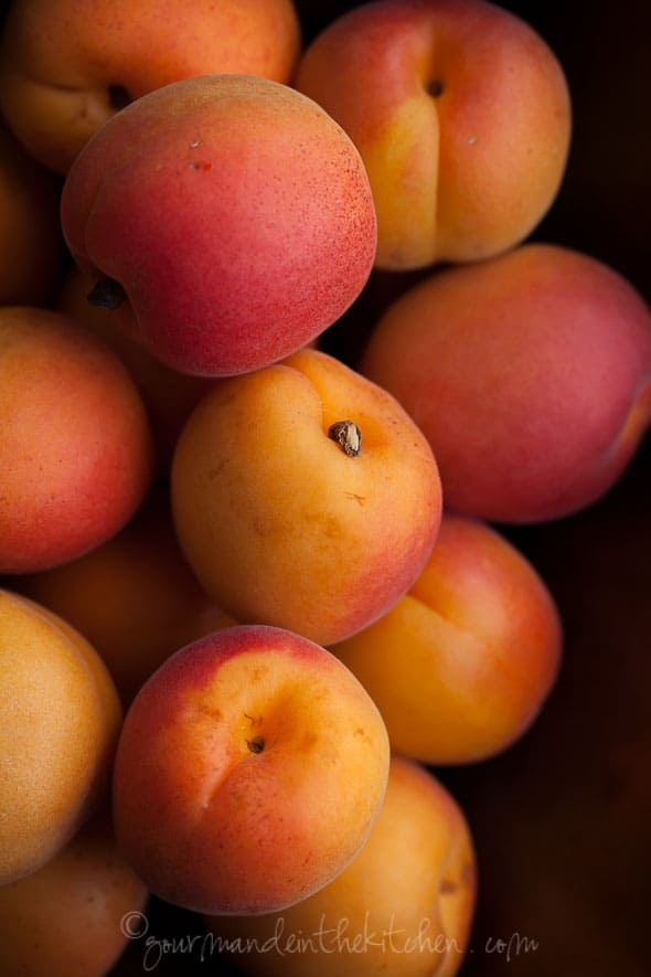 Fresh Apricots, Sylvie Shirazi Photography, Gourmande in the Kitchen, food photography