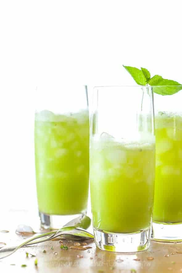 sparkling pineapple mint juice, sylvie shirazi photography, gourmande in the kitchen, food photography