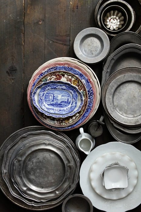 Plates for Food Photography