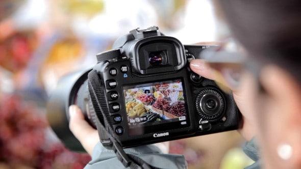 Shooting food videos