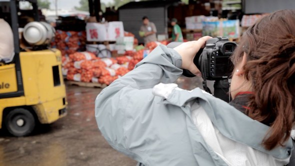 how to shoot a food video