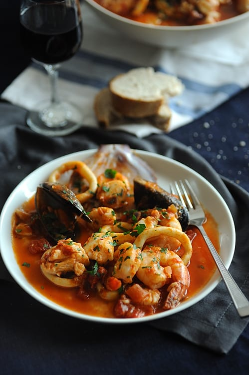 Seafood Stew Learning Your Camera and How to Shoot Moody Images with Peter Georgakopoulos | Summer Food Photography Series Part Three