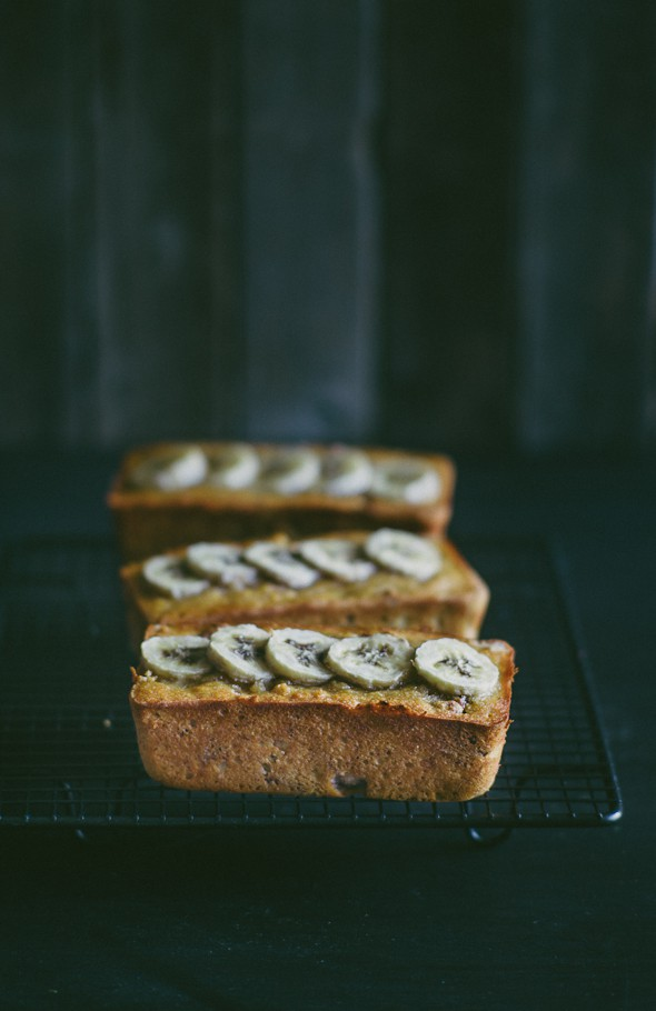 gluten free banana cakes