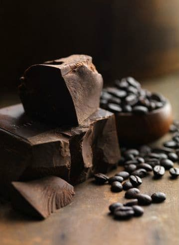 JIm Scherer Coffee Beans and Chocolate