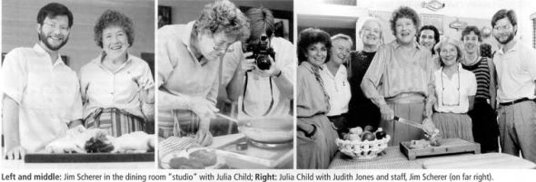 Jim Scherer Julia Child