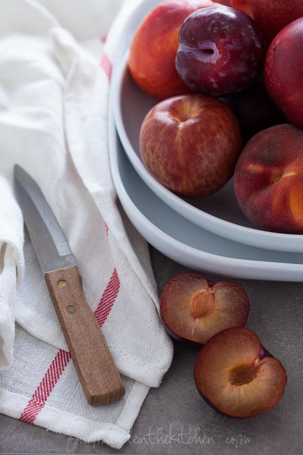stone fruit,nectarines, plums, peaches, food photography