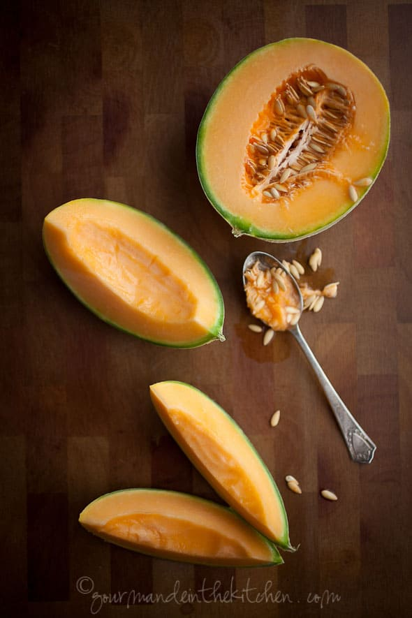 Tea Infused Cantaloupe Sylvie Shirazi Photography Gourmande in the Kitchen