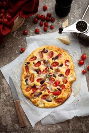 Tomato Thmye Foccacia Gluten Free