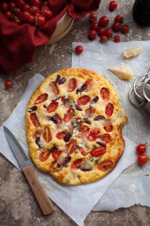 Tomato Thyme Focaccia Bread (Grain Free and Gluten Free)