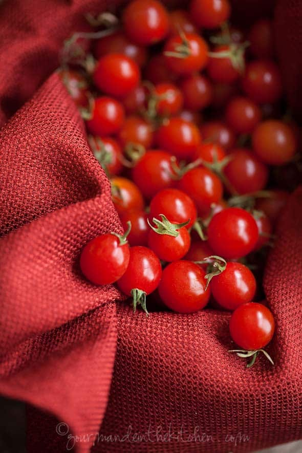 Tomatoes for Focaccia Bread Grain Free and Gluten Free Cherry Tomato, Olive and Thyme Focaccia Bread (Gluten Free and Grain Free)