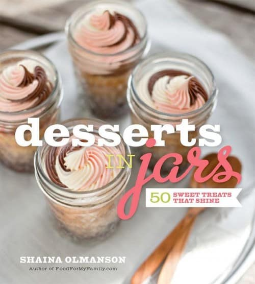 desserts in jar by shaina olmanson, book review, giveaway