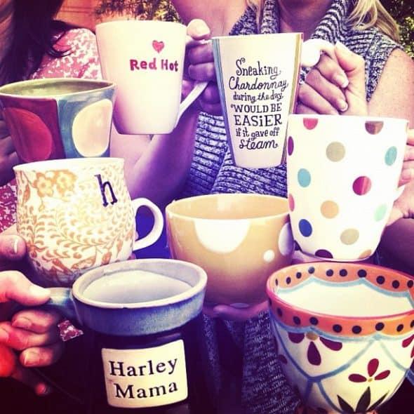 multiple coffee mugs