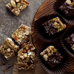 Chocolate Dipped Nut Bites Recipe