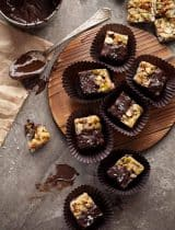 Chocolate Dipped Nut Bites