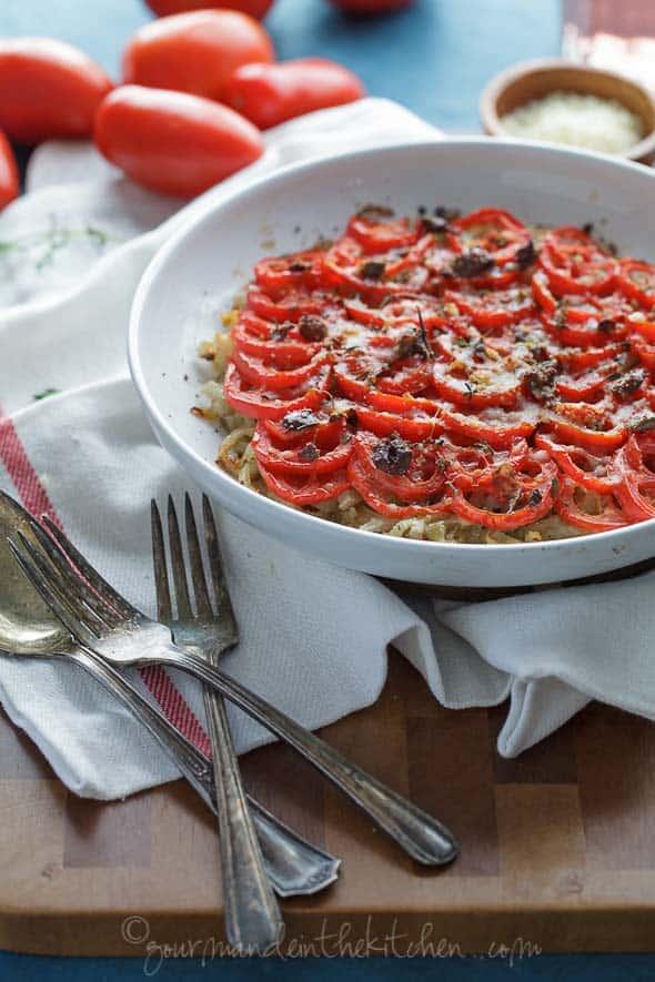 fennel tomato gratin, sylvie shirazi photography, los angeles food photographer, food photography