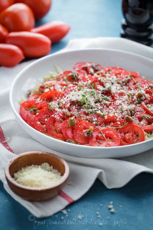 fennel tomato gratin, sylvie shirazi photogrpahy, food photography, los angeles food photographer