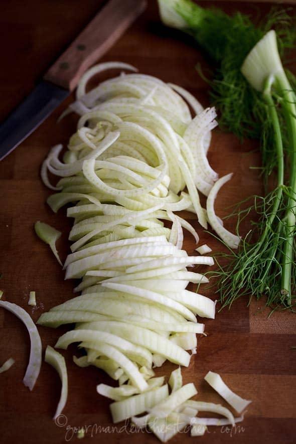 sliced fennel, sylvie shirazi photography, los angeles food photographer, food photography