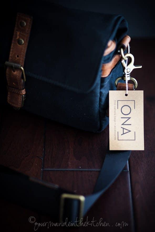 ONA Bowery bag, sylvie shirazi photography, gourmande in the kitchen, camera bag review