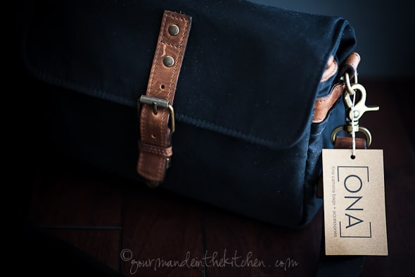 ONA bag, camera bag review, gourmande in the kitchen, sylvie shirazi photography