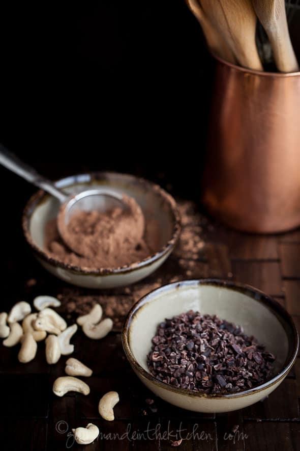 raw fudge, chocolate fudge, food photography, sylvie shirazi, los angeles food photographer