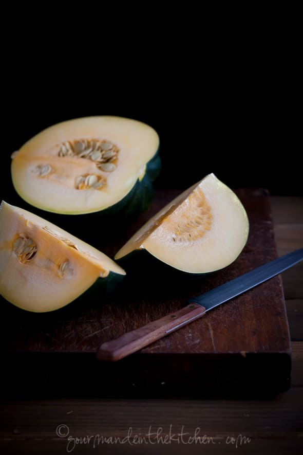 acorn squash, squash, gourmande in the kitchen, los angeles food photographer, food photography, recipe