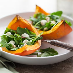 roasted squash salad, gourmande in the kitchen, los angeles food photographer, food photography, recipe