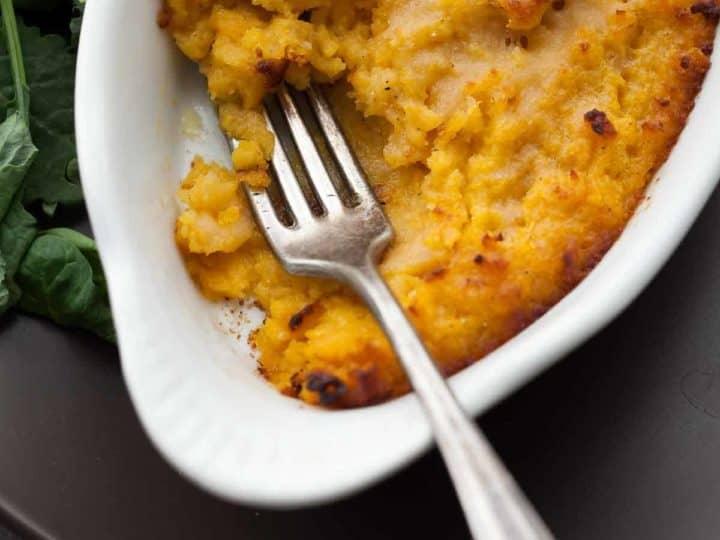 Butternut Squash and Parmesan Gratin