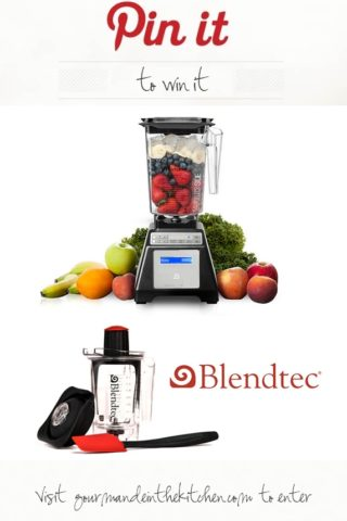 Blendtec Total Blender Classic Wildside and Twister Jar Review and Giveaway