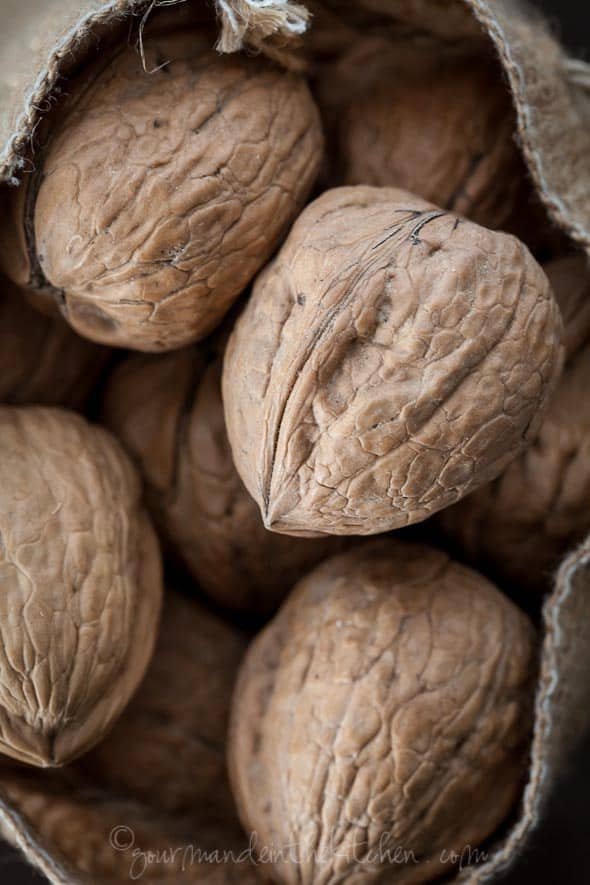 walnuts in the shell