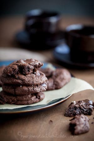 chocolate chunk cookies, food photography, paleo cookies, gluten free cookies