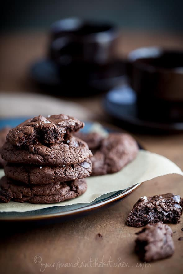 chocolate chunk cookies, food photography, paleo cookies, gluten free cookies
