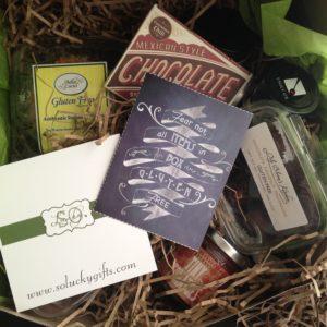 So Lucky Gluten Free Gift Basket