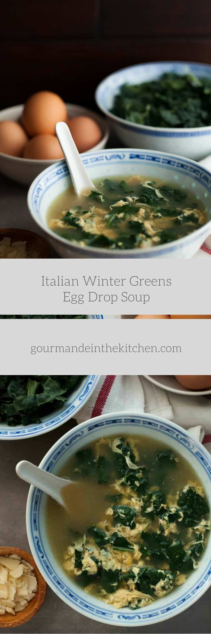 Italian Winter Greens Egg Drop Soup | Stracciatella | Gourmande in the ...