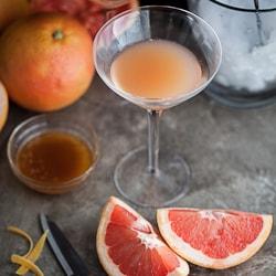 brown derby, cocktail, grapefruit, honey