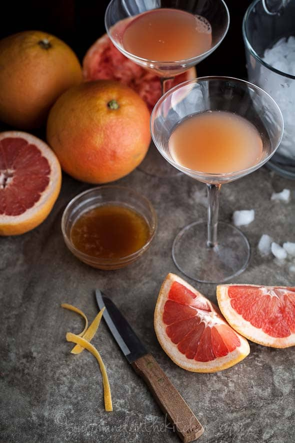 grapefruit, cocktail, bourbon, brown derby