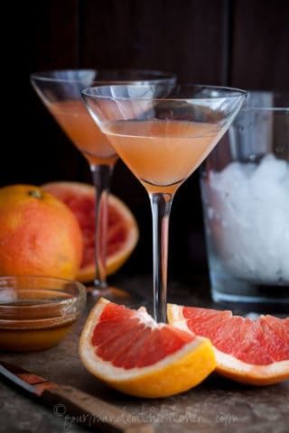 The Brown Derby | An Old Fashioned Grapefruit Cocktail