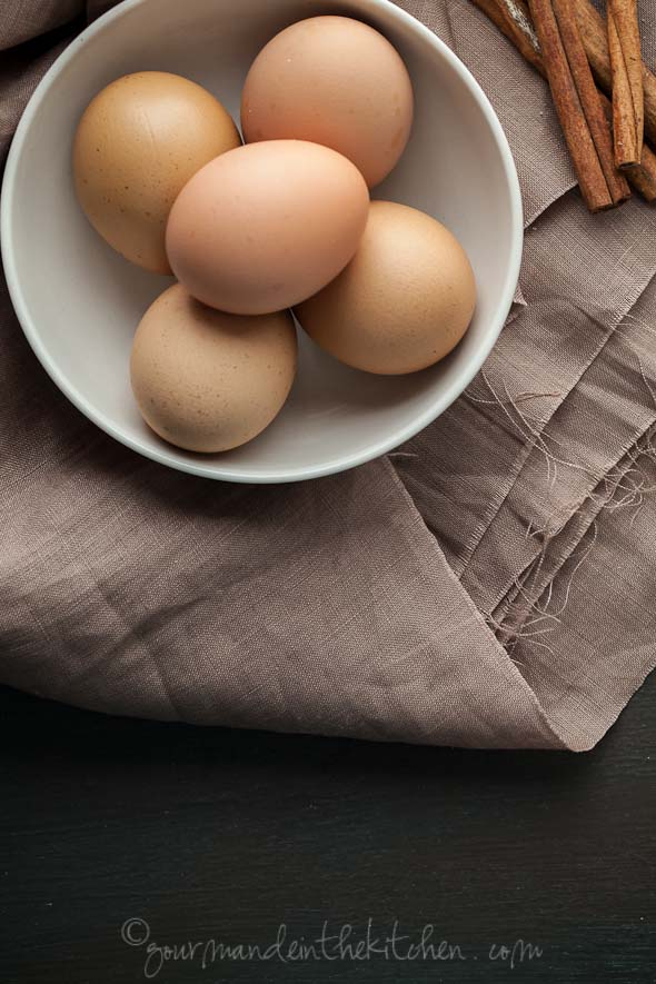 eggs, cinnamon sticks, gourmande in the kitchen, sylvie shirazii, food photography, meringue recipe