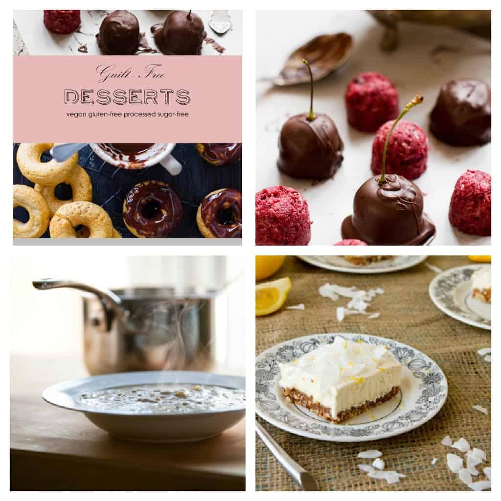 gluten-free, dairy-free, vegan, refined sugar free recipes