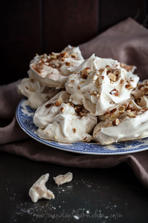 eggs, cinnamon, food photography, recipe, meringues
