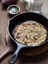 Rosemary Sweet Potato Galette (aka Pommes Anna)