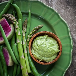Fresh Herb Aioli with Vegetables-77